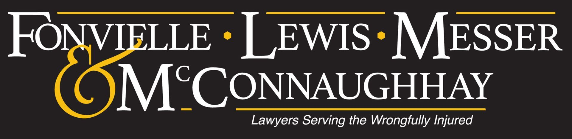 Fonvielle Lewis Messer McConnaughhay Lawyers Serving Wrongfully Injured logo